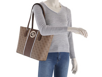 Guess Shopper Open Road Tote coal