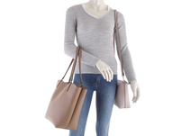 Guess Shopper Alby Toggle Tote Bag in Bag mocha/rosewood