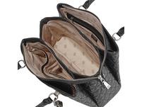 Guess Kurzgriff Tasche Wessex Triple Compartment Satchel schwarz