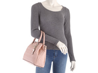 Guess Kurzgriff Tasche Rosewood Triple Compartment Satchel rose