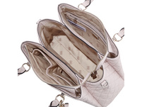 Guess Kurzgriff Tasche Wessex Triple Compartment Satchel blush