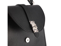 Guess Kurzgriff Tasche Nerea Top Handle Flap black