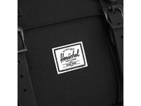 Herschel Rucksack 'Little America' 23,5l black/black