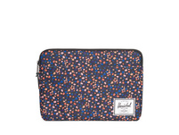 "Herschel Laptophülle Anchor 13"" black mini floral"