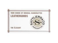 Sattlers & Co. Beuteltasche SJ35-K dunkelbraun