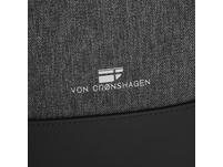 """Von Cronshagen Laptoprucksack Kjell 17"""" anthrazit"""