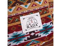 Rada Rucksack RS/18 32l grey two tone cognac