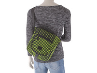 "Rada Tablettasche CT/2/S 10"" lime green dots"