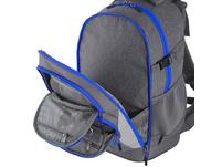 Kischoo Schulrucksack Set 3tlg. Effekt 40l grey/blue