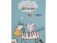 Let's Go Kinderrucksack KRS/3 15l pink