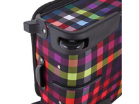 Rada Reisetrolley Rainbow T1/55cm multicolour check