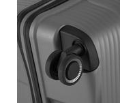 Von Cronshagen Reisetrolley Magnus L 77cm grey metallic
