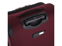 Rada Reisetrolley Rainbow T1/S 67cm bordeaux 2 tone cognac