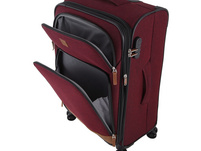Rada Reisetrolley Rainbow T1/S 77cm bordeaux 2 tone cognac