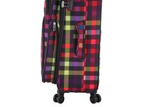 Rada Reisetrolley Rainbow T1/S 67cm multicolor check