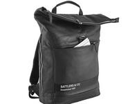 "Sattlers & Co Laptop Rucksack The American Okemus 17,4"" schwarz"