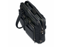 """Piquadro Laptoptasche 14"""" schwarz genarbt"""