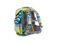 School-Mood Schulranzen-Set 7tlg. Timeless Eco Air 23l Malte Reptilien