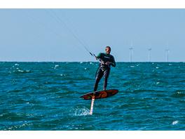 Hydrofoil Kitesurf-Kurs an der Ostsee