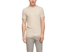 Fein meliertes Jerseyshirt - Jersey-T-Shirt