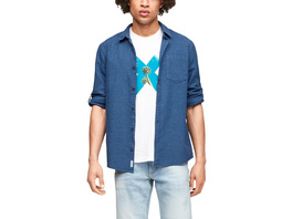 Extra Slim Fit: Hemd aus Leinenmix - Hemd
