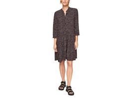 Tunikakleid mit Allovermuster - Kleid