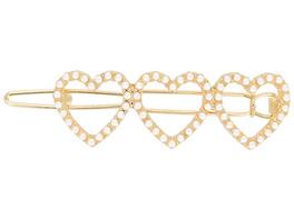 Haarklammer - Triple Pearl