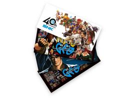 Neo Geo mini Sticker