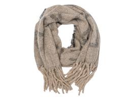 Wollschal mit Logoschriftzug - Schal