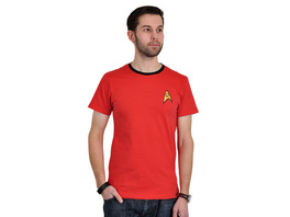 Star Trek - Scotty Uniform T-Shirt rot