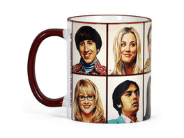 Big Bang Theory - We are Family Tasse
