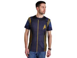 Star Trek - Discovery Commander Uniform T-Shirt blau