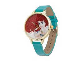 Arielle Armbanduhr mit Glitzer