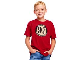Harry Potter - 9 34 T-Shirt Kinder rot