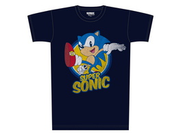 Sonic the Hedgehog - Super Sonic T-Shirt blau