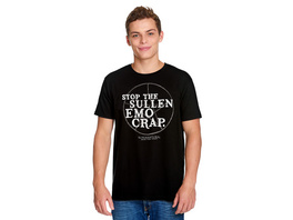 Supernatural - Stop The Sullen Emo Crap T-Shirt