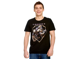 Avengers - Thanos Crest T-Shirt schwarz