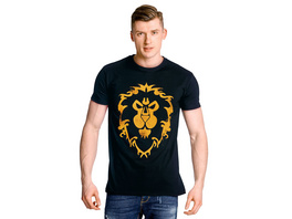 World of Warcraft - Alliance Spray Logo T-Shirt blau