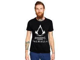 Assassins Creed - Valhalla Logo T-Shirt schwarz