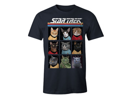 Star Trek - Cat Crew T-Shirt blau