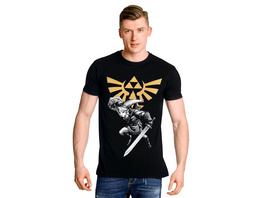 Zelda - Link Battle T-Shirt schwarz