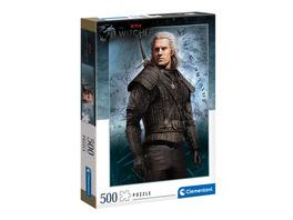 Witcher - Geralt von Riva Puzzle 500 Teile