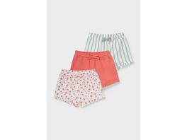 Multipack 3er - Baby-Shorts - Bio-Baumwolle