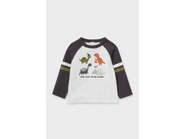 Dino - Baby-Langarmshirt