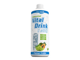 Best Body Nutrition Essential Vital Drink 1000ml-Birne Melisse