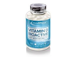 IronMaxx Vitamin D Bioactive 150 Kapseln