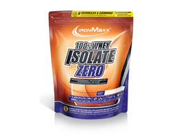IronMaxx 100% Whey Isolate Zero 750g-Erdbeer