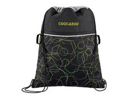 coocazoo Turnbeutel Rocket Pocket 2 laserbeam black