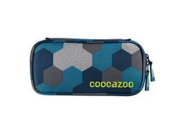 coocazoo Schlampermäppchen PencilDenzel blue geometric melan