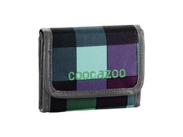 coocazoo Klettverschlussbörse CashDash green purple distric